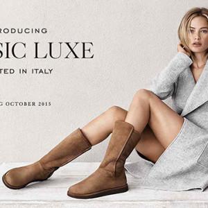 10月7日(水)発売!UGG Australia限定コレクション「Classic Luxe」
