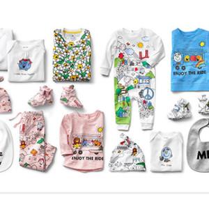【新商品】GAP baby GAP(ベビーギャップ)×Mr. Men™ Little Miss(ミスターメン リトルミス)コレクション