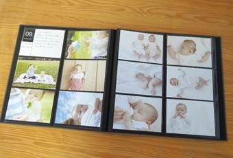 """【ネット限定おすすめ商品】Nakabayashi×OURHOME  子どもの写真の整理に最適な""""Year Photo Album"""""""