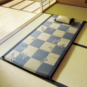 【父の日ギフト・プレゼントに】紋織 枕付いぐさ寝ござ「とんぼ」