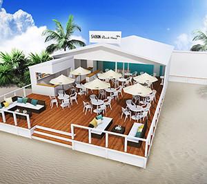 【7月1日(金)オープン】サボン(SABON)のビーチハウス 神奈川・由比ヶ浜海岸にオープン!