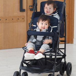 """【おすすめ商品】ベビーザらスから""""Duo シティ hop(2人乗りベビーカー)""""10kgを切る軽量設計!"""