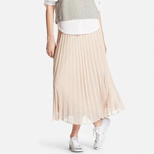 """【新商品】ユニクロ(UNIQLO)から""""WOMEN シフォンプリーツスカート""""が発売!"""