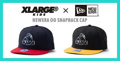 """【新商品】エクストララージ キッズ(XLARGE KIDS)から""""NEWERA OG SNAPBACK CAP""""が発売!"""