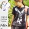"""【新商品】Milk tea(ミルクティー)から授乳服・マタニティ・トップス""""Milk Tee「スカーフ柄」""""が発売!"""