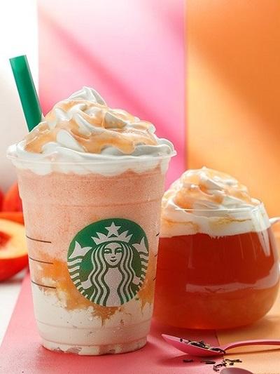 """【限定発売中】スターバックスコーヒー(Starbucks Coffee)から""""ネクタリン ピーチ クリーム""""が発売!"""