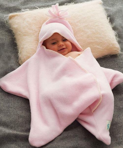 """【おすすめ商品】babybaby select """"星型アフガン スターラップ"""" 手触り抜群のフリース素材!"""