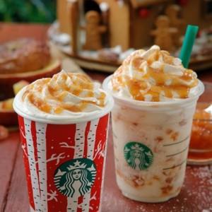 """【12月1日(木)発売】スターバックスコーヒー(Starbucks Coffee)から""""ホット ベイクド アップル と ベイクド アップル フラペチーノ""""が発売!"""