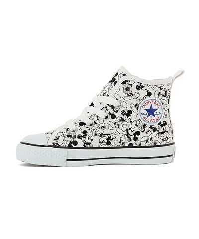 "【予約商品】CONVERSE(コンバース)から""CONVERSE CHILD ALL STAR N MICKEY MOUSE PT Z HI "" が発売!"
