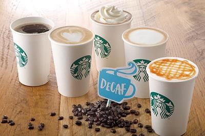 """【今日から】スターバックスコーヒー(Starbucks Coffee)から""""ディカフェ(カフェインレス)""""提供開始!"""