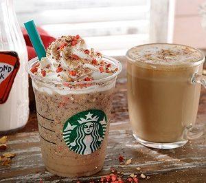 """スターバックスコーヒー(Starbucks Coffee)から""""アーモンド ミルク & グラノラ フラペチーノ""""が10/2(月)発売!"""