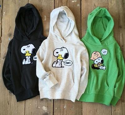 """コーエン(coen)から""""SNOOPY WOODSTOCK/スヌーピー ウッドストック パーカー""""が発売!"""