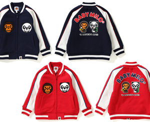 BAPE KIDS®(ベイプキッズ) BABY MILO®SWEAT JACKETが12/9(土)発売!