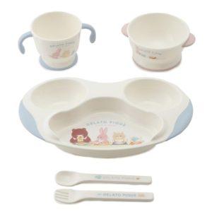 """ジェラートピケキッズアンドベイビー(gelato pique Kids&Baby)から""""baby食器SET""""が予約発売!"""