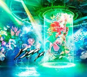 """アクアパーク品川 """"フラワーアクアリウム バイ ネイキッド -シークレットシー-(FLOWER AQUARIUM BY NAKED –secret sea-)""""4/21(土)より開催!"""