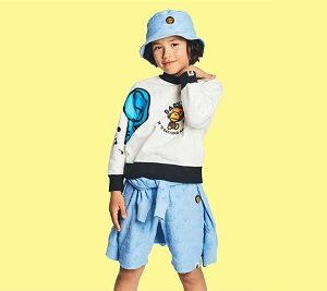"BAPE KIDS®(ベイプキッズ) ""STA PILE MILO COLLECTION""が4/21(土)発売!"