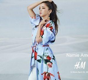 """NAMIE AMURO(安室奈美恵) X H&M(エイチ&エム)""""コラボレーションコレクション""""が4/25(水)発売!"""
