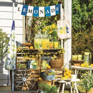 """アフタヌーンティー・リビング(Afternoon Tea LIVING)から""""LEMONADE STANDをテーマにした夏の新作""""が本日発売!"""