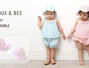 """cuna select から""""Bijoux & Bee(ビジューアンドビー)チューリップハット""""が発売!(クーナ セレクト)"""