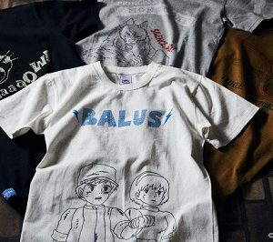 スタジオジブリ作品の大人のアメカジブランド『GBL』からキャラクターやモチーフをあしらったTシャツが6/7(木)10:00発売!