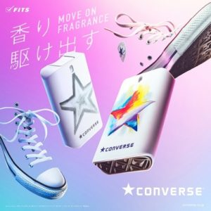 """コンバース(CONVERSE)から日本初フレグランス""""コンバース ムーブオンフレグランス""""が6/22(金)発売!"""