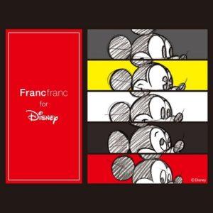 """フランフラン(Francfranc)から""""ミッキーマウス スクリーンデビュー 90周年特別アイテム""""が発売!"""