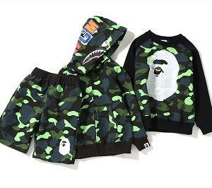 "BAPE KIDS®(ベイプキッズ) ""1ST CAMO NEON COLLECTION""が2/23(土)発売!"