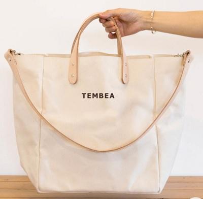TEMBEA(テンベア) × こども ビームス / 別注 マザートート ロゴ 2が発売!