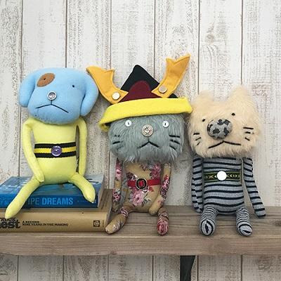 cuna select から手作りのぬいぐるみBobby Dazzler(ボビーダズラー)五月人形ver. 初登場!(クーナ セレクト)