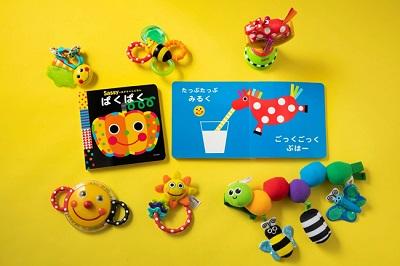 サッシー(Sassy)絵本シリーズ最新作『Sassyのあかちゃんえほん ぱくぱく』発売中!