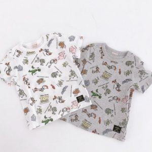 """プティマイン(petit main) から""""DISNEY/PIXAR TOY STORYデザインTシャツ""""が発売!"""