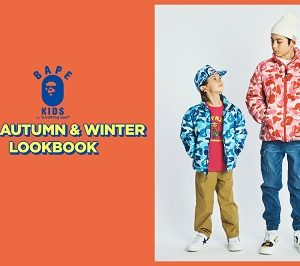 BAPE KIDS® 『2019 AUTUMN/WINTER COLLECTION 』が7/6(土)発売!