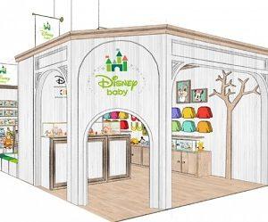 トイザらス・ベビーザらスから「ディズニーベビー」のショップインショップ『ディズニーベビーマーケット』を8/30(金)オープン!