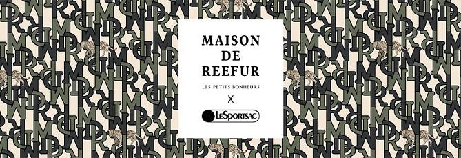 メゾンドリーファー(MAISON DE REEFUR)×レスポートサック(LeSportsac)コラボアイテム発売!