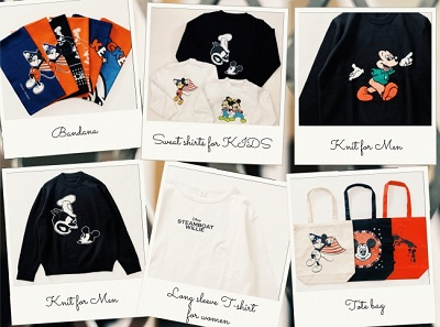 SHIPS×ディズニーストア『DISNEY DESIGN COLLECTION by SHIPS』が10/15(火)発売!