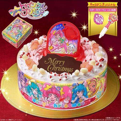キャラデコクリスマスケーキ 『スター☆トゥインクルプリキュア』が発売中!