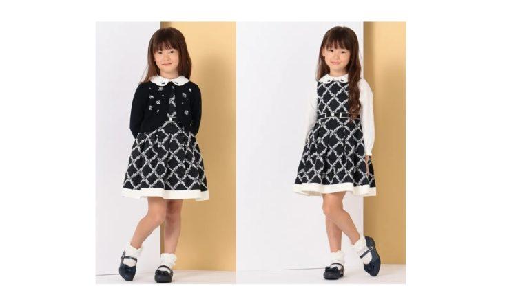 組曲 KIDSからWEB限定カラーのコート&刺繍ワンピースが発売!