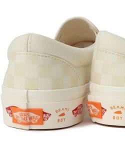 「VANS × BEAMS BOY / 別注 V98R」が予約発売!