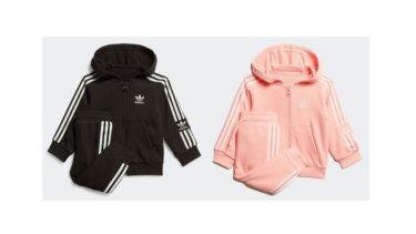 """アディダスオリジナルス(adidas)ベビーサイズから展開 """"パーカー上下セット""""発売!"""