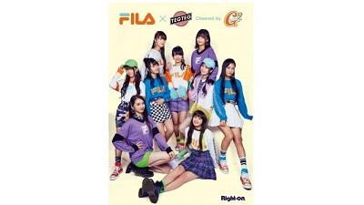 注目のキッズアイテム!FILA×TEG TEG cheered by Girls² 限定キッズウェアがライトオン店頭で2/3(月)から全国販売スタート!