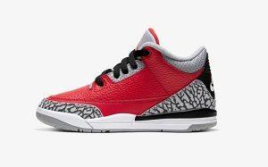 """ナイキ(NIKE) 「Air Jordan 3 Retro SE """"Red Cement""""(エアジョーダン3 レトロ """"レッドセメント"""")」"""