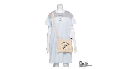 「Lindsay(リンジィ)×PEANUTS」Tシャツワンピース×サコッシュセットが発売!