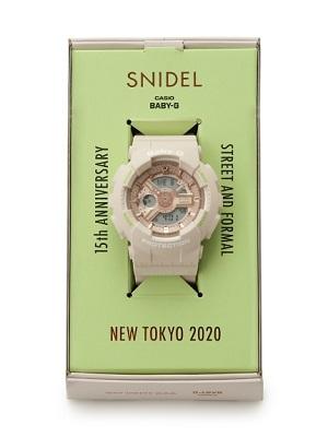 「 スナイデル × BABY-G 」コラボ腕時計が4/9(木)発売!