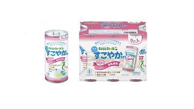 雪印ビーンスターク 育児用液体ミルク『液体ミルクすこやかM1』4月下旬発売!