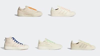 ファレル・ウィリアムス × アディダス オリジナルス(Pharrell Williams x adidas) 4/6(月)発売!