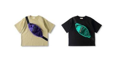 ブランシェス(branshes)フェイクショルダー付き半袖Tシャツ 発売!