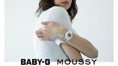 「 マウジー × BABY-G 」スケルトンウォッチが4/3(金)発売!