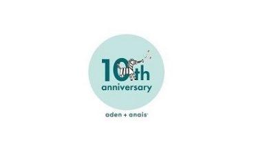 aden+anais(エイデンアンドアネイ)10周年記念コレクション発売!