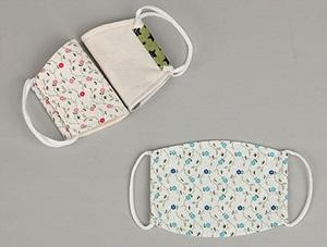 マタニティ服の『ミルクティー(Milk tea)』オーガニックコットンマスク