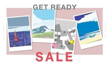 ナノ・ユニバース 「GET READY SALE」開催中!